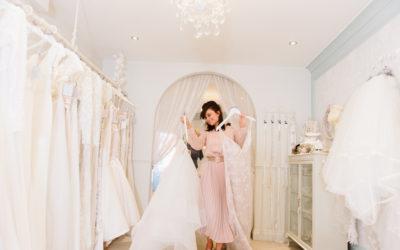 New website – Hampshire luxury bridal boutique
