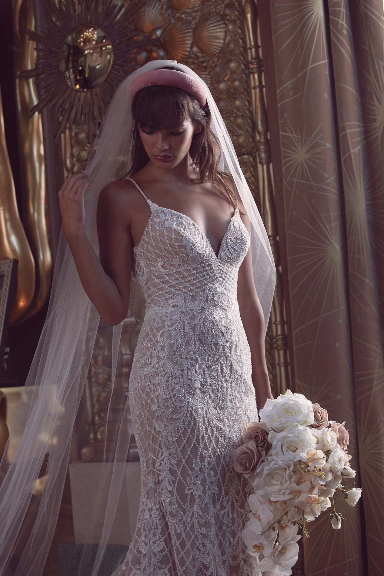 Watters Wtoo, Cabinet of Wonders wedding dress at Hannah Elizabeth Bridal