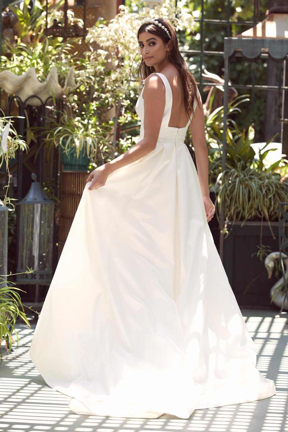 Silk wedding gown, Cabinet of Wonders, an exclusive Watters WTOO event