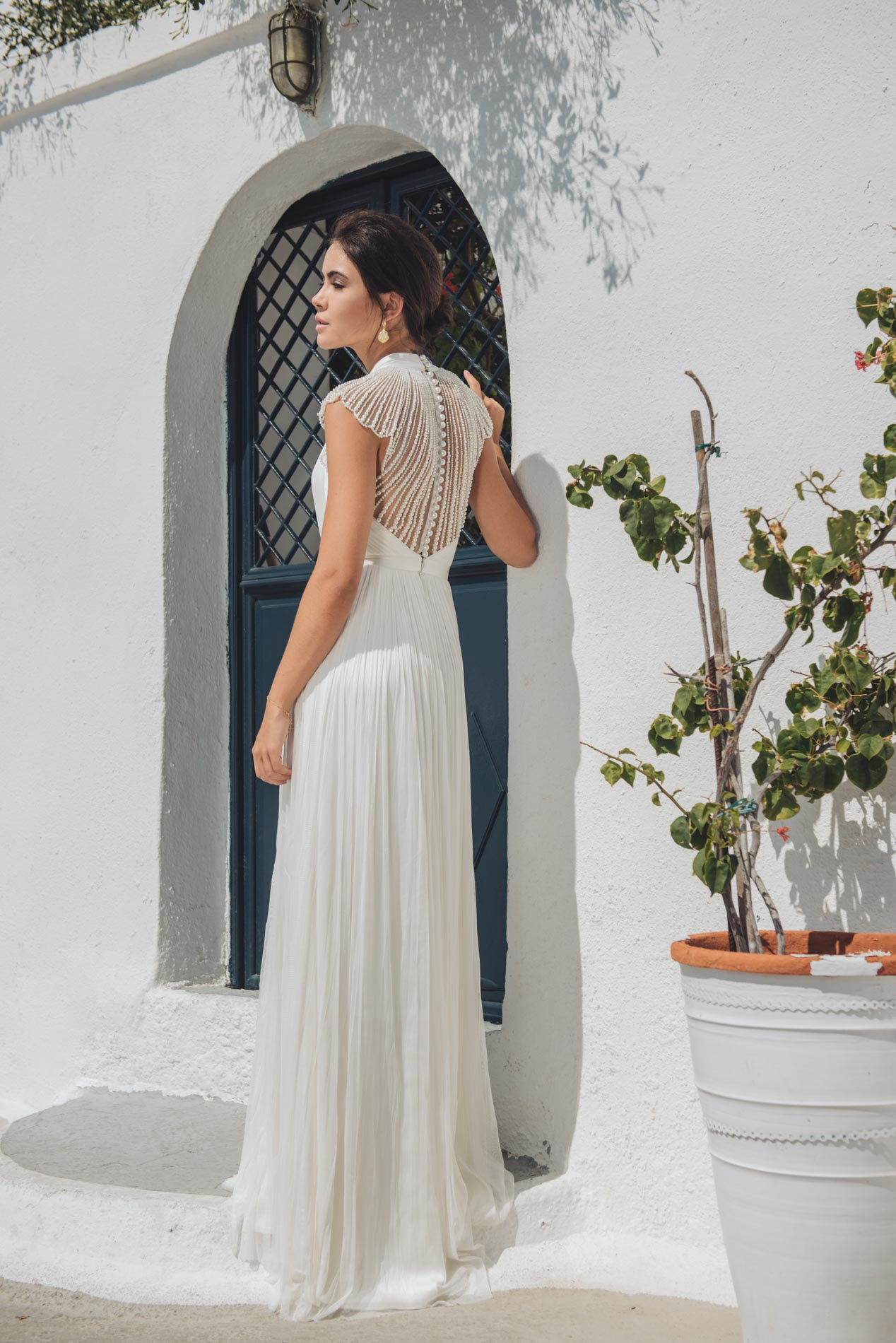 Kellyn Wedding Dress by Catherine Deane at Hannah Elizabeth Bridal, Botley. Hosting outstanding events for Hampshire Brides