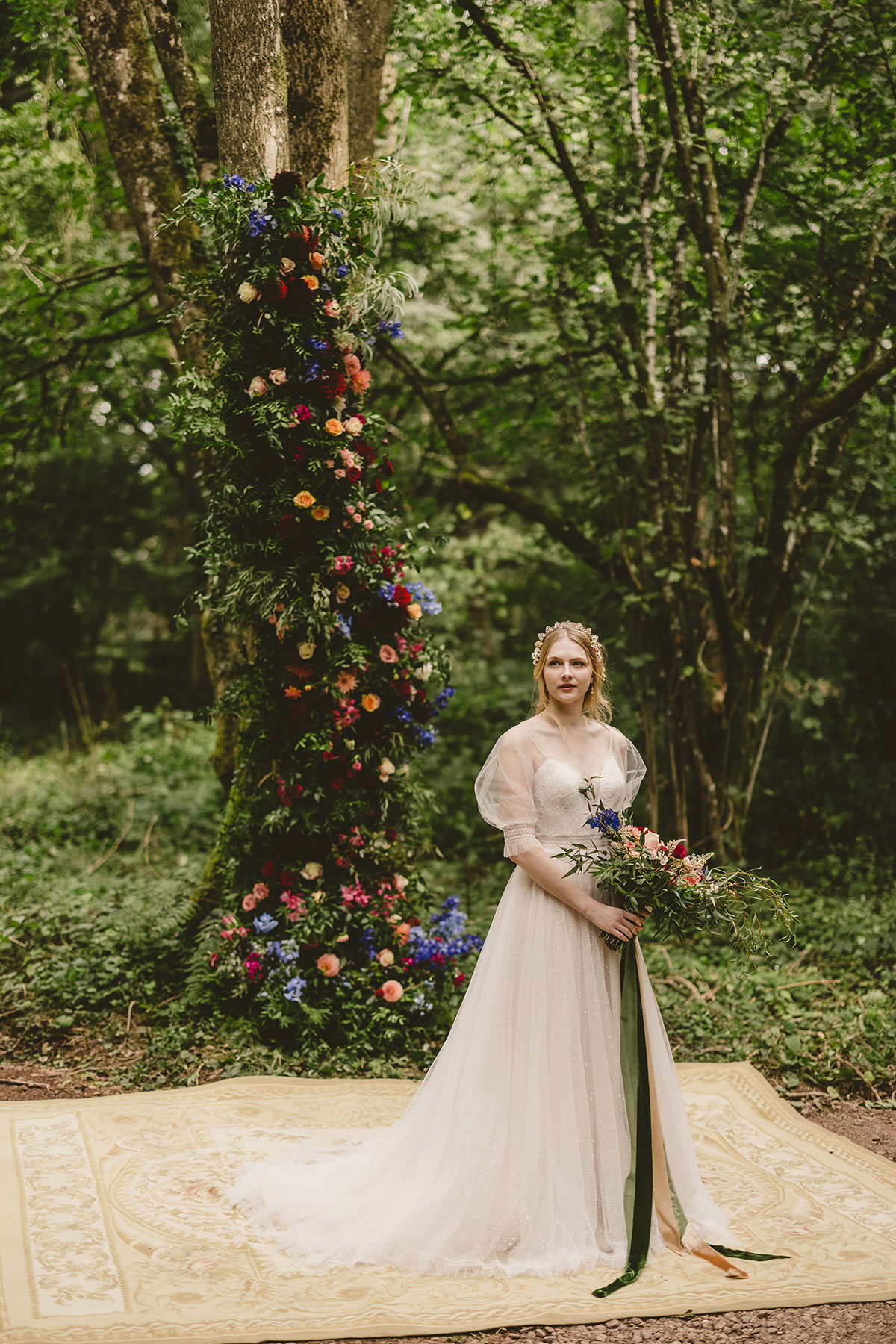 Styled shoot gorgeousness! Claire by Chic Nostalgia - daily reminder for you - be the epitome of a grace
