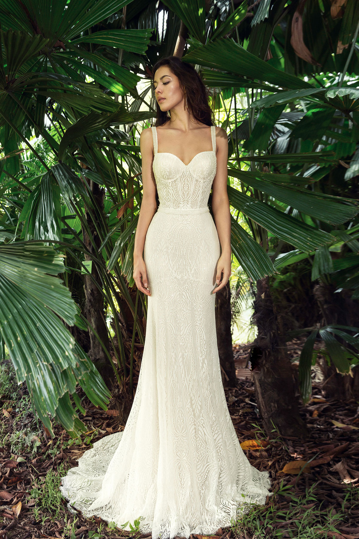 Wedding dress details - Raven at Hannah Elizabeth Bridal by Nostalgia by Amber He